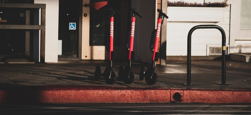 The data could be used to create designated parking for scooters, among other things.