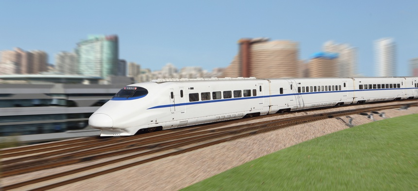 A high speed train may soon come to Texas.