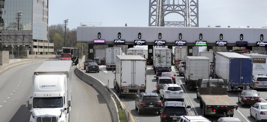 New York City's congestion tax is meant to reduce traffic.