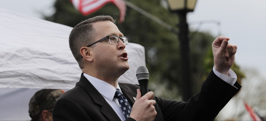Washington state Rep. Matt Shea has been involved in a movement to create a 51st state.