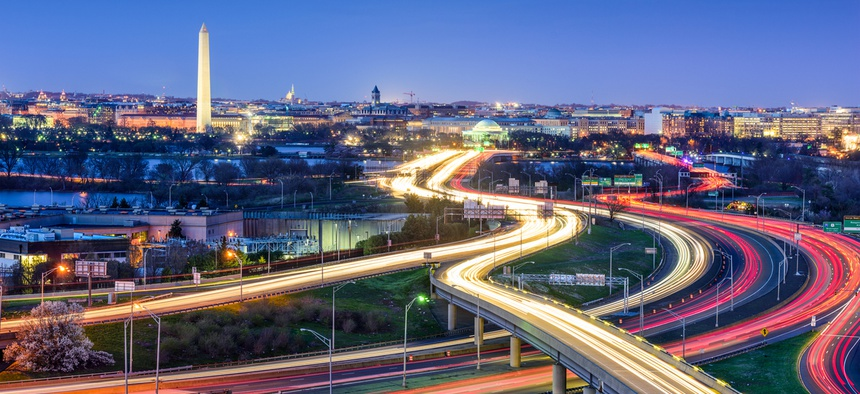 Amazon's decision to base a new headquarters right outside D.C. helped to boost its ranking.