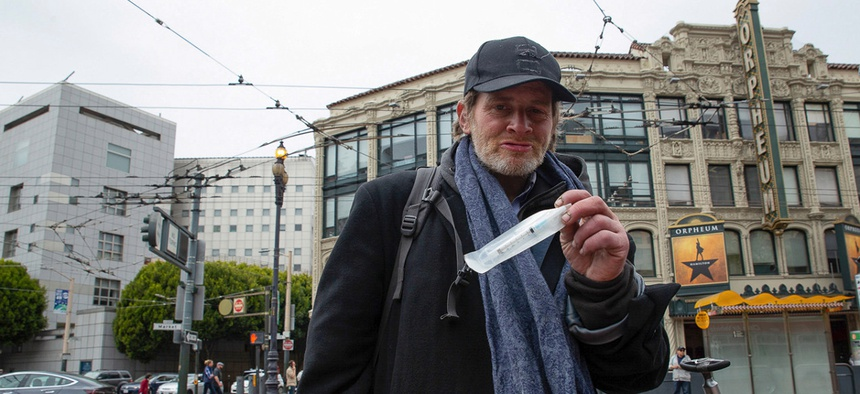 Seth Carus says he has reversed two dozen overdoses with naloxone in the past five months.