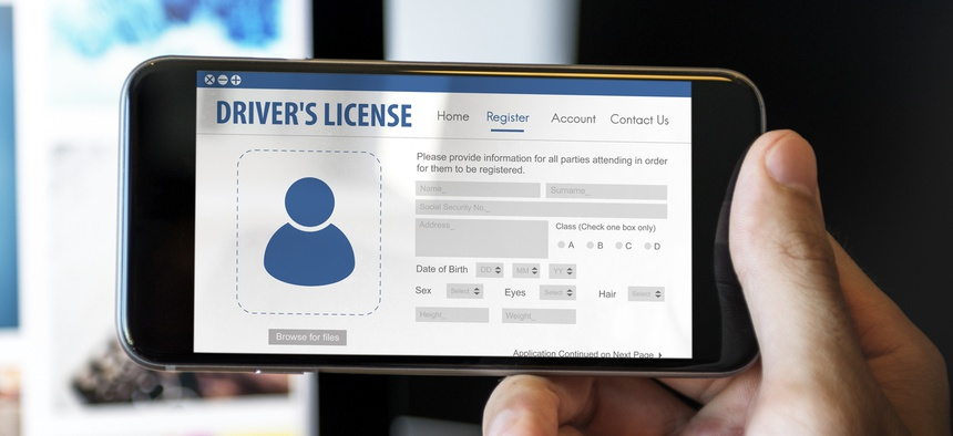Digital driver's licenses may soon be a reality.