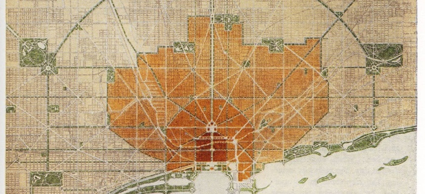 The 1909 Plan of Chicago, by Daniel Burnham and Edward H. Bennett, offered a comprehensive vision for controlled growth of the industrial metropolis.