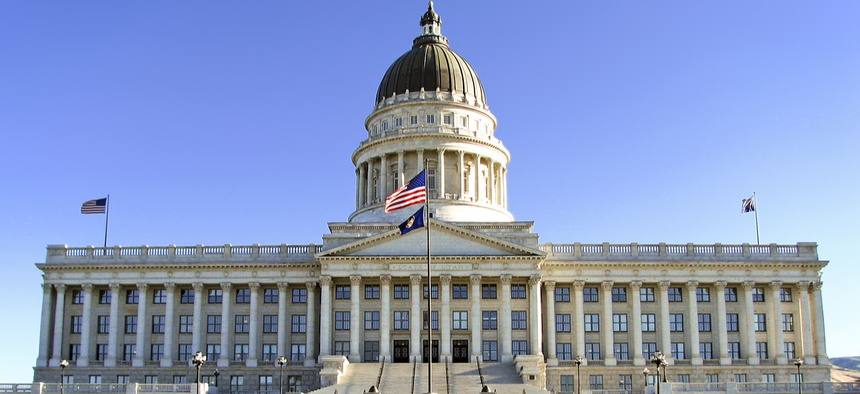 State Capitol Building in Salt Lake City, Utah