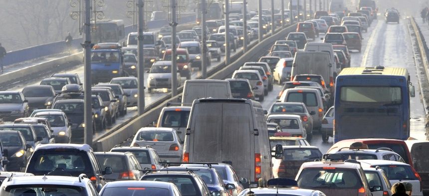 The interaction of traffic delay and auto commute times is the central force leading to an endless cycle of auto-centric sprawl.