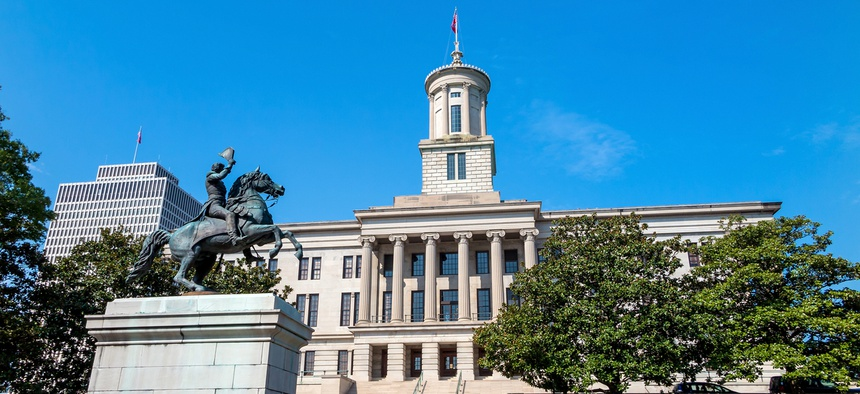 The Tennessee State Capital.