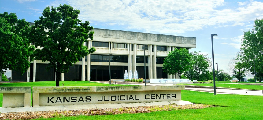 The Kansas Supreme Court's judicial center.