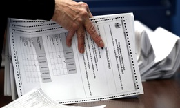 Ballots are prepared for Maine's election in 2018, the first congressional race in American history to be decided by the ranked-choice voting method.
