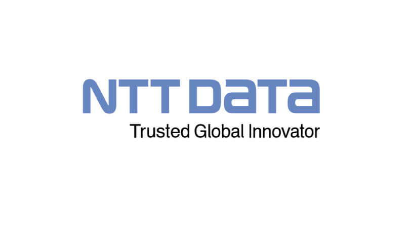 NTT DATA's logo