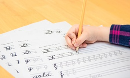 The bill would require students to be able to write legibly in cursive by the fifth grade.