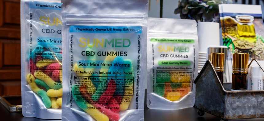 Some edibles marketed as CBD contain illegal compounds that can make people sick, a recent Associated Press investigation found.