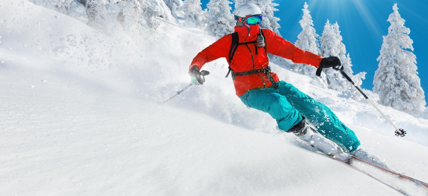 Skiing is just one of the outdoor recreation activities that is contributing to significant economic output gains for some states.