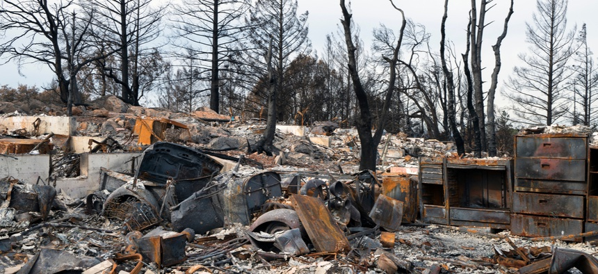 Last year's wildfires left many California homes destroyed.