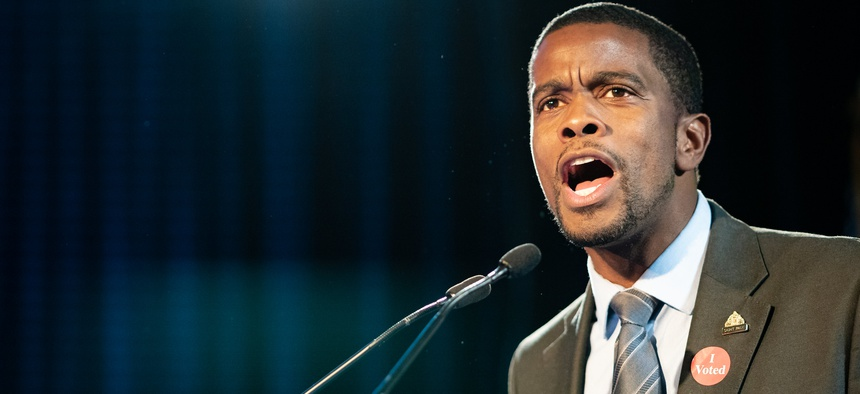 St. Paul Mayor Melvin Carter received threats over a trash collection program.