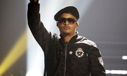 T.I. performs during the BET Hip Hop Awards in Atlanta in 2016. The rapper said he accompanies his teenage daughter to the doctor to confirm the presence of her hymen.