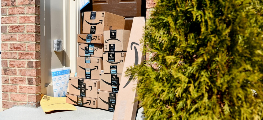 Americans spent a record $9.4 billion on Cyber Monday, the annual post-Thanksgiving online shopping day.