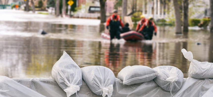Flooding was the second-most common type of natural disaster, affecting 54.2 percent of responding communities.