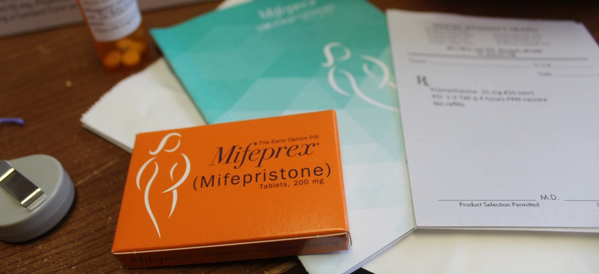 Mifepristone is the first pill in the two-step process of a medical abortion.