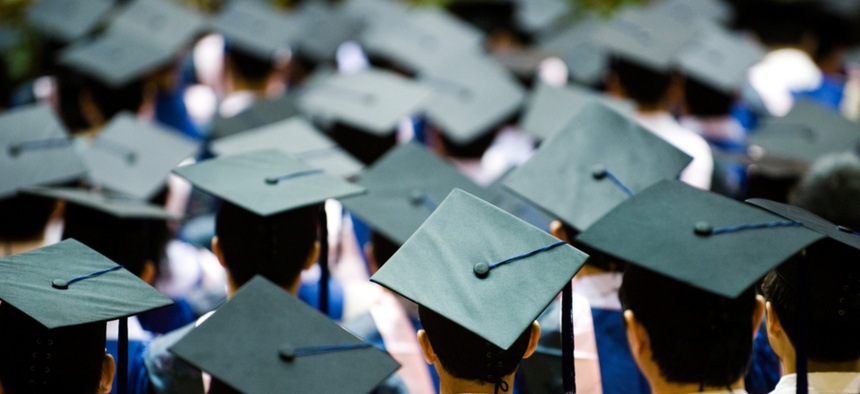 Free community college would increase the number of people graduating with associate degrees, but it would also likely decrease the number of people completing bachelor's degrees.