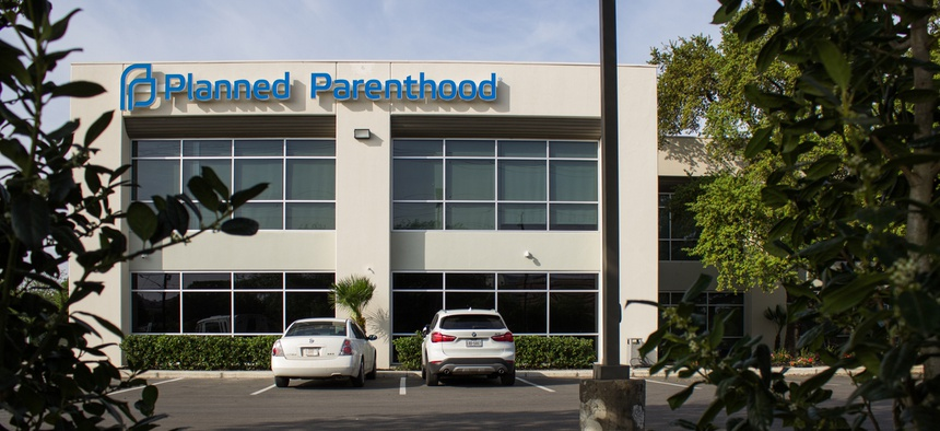A Planned Parenthood location in San Antonio, Texas.