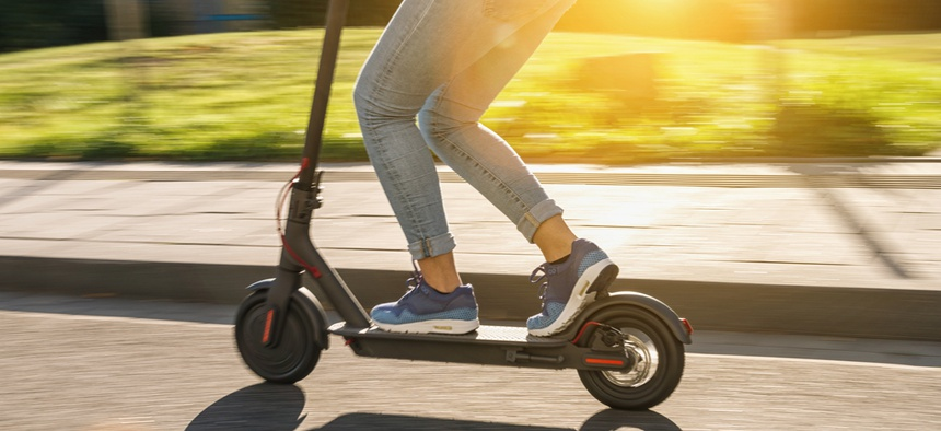 The legislation would define scooters in the state's transportation code but leave all regulatory policy decisions to local governments.
