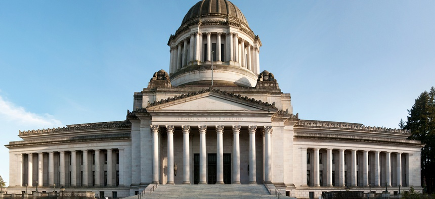State capitol building in Olympia, Washington.