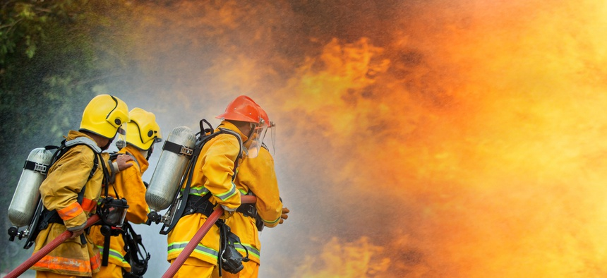 Firefighters will need new resources and ideas to fight more intense fires in the future.