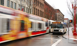 Portland streets will soon prioritize public transit.