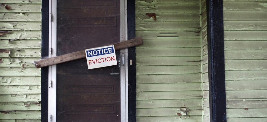 Stalling evictions during the outbreak can protect vulnerable populations as well as stem the spread of the virus, advocates said.