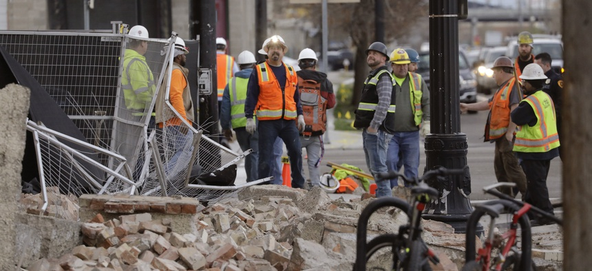 Natural disasters, like the recent 5.7 magnitude earthquake in Salt Lake City, will further strain state and local resources already consumed by the coronavirus pandemic.