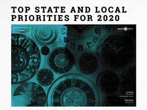 Top State and Local Priorities for 2020