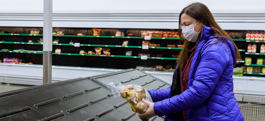 The primary concern for shoppers is other people, not food.
