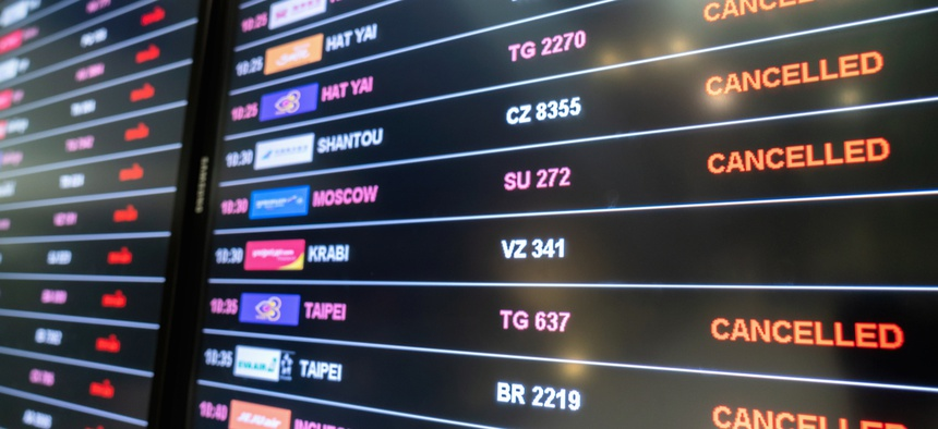 Thousands of would-be travelers are after refunds for cancelled flights.
