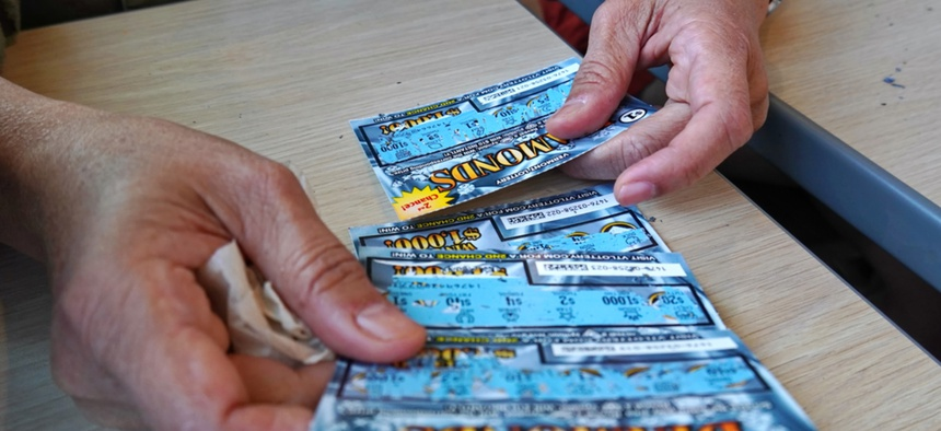 Scratch-off tickets, with their more immediate gratification, have brought states good luck.