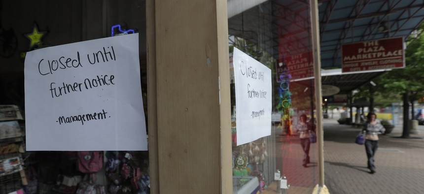 Businesses that closed temporarily may not reopen.