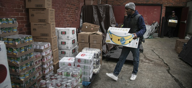 Trump's Food Aid Program Gives Little Funding to the Northeast, Where Coronavirus Hit Hardest