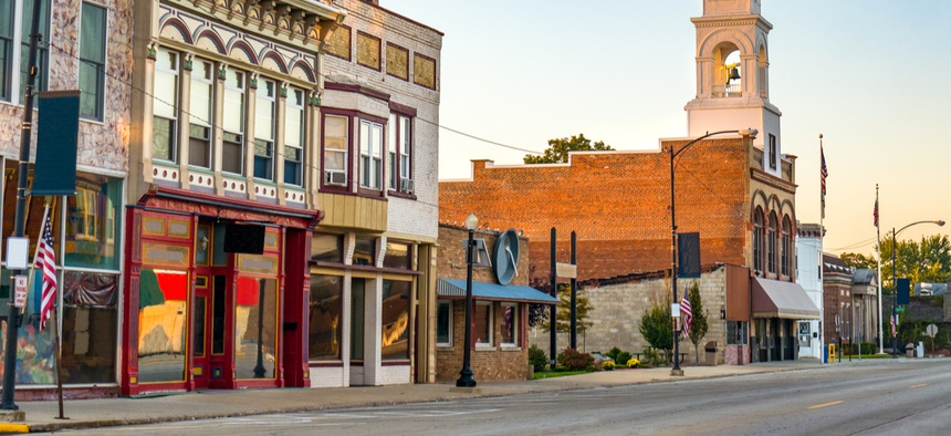 Small rural businesses applied for—and received—CARES Act dollars in smaller numbers than urban ones.