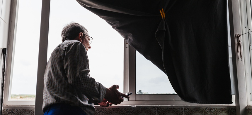 As the coronavirus outbreak moved into Chicago, managers at some federally subsidized but privately owned buildings cut staffing and security, leaving some seniors without support.