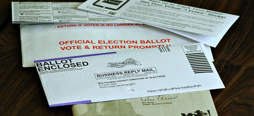 There is growing concern among election officials and experts that the increasingly partisan debate around voting by mail could sow doubt in the results of the presidential election.