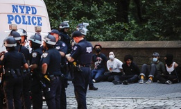 New York City staffers called for an investigation into NYPD practices during recent protests.