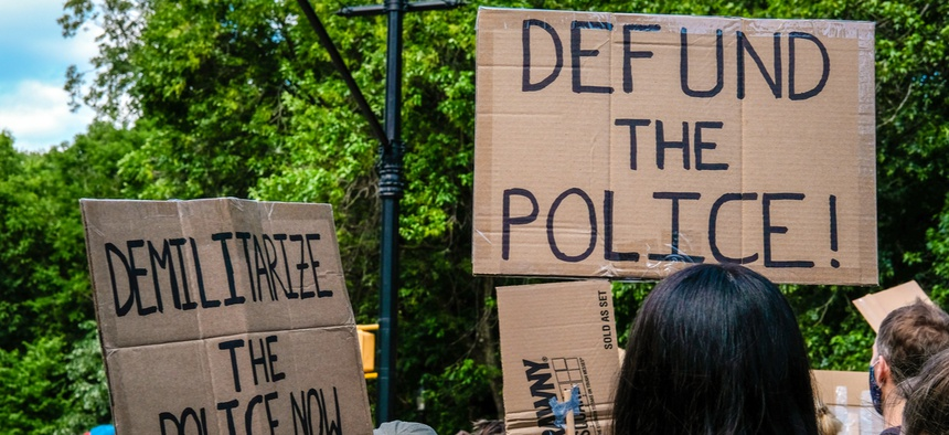 Calls to defund the police were answered this week in Minneapolis.