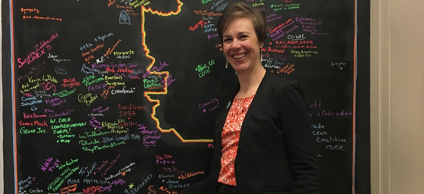 Emily Brown was director of the Rio Grande County Public Health Department in Colorado until May 22, when the county commissioners fired her after battling with her over coronavirus restrictions.